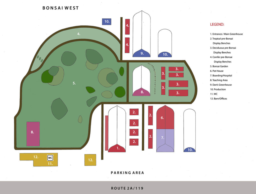 Bonsai West map